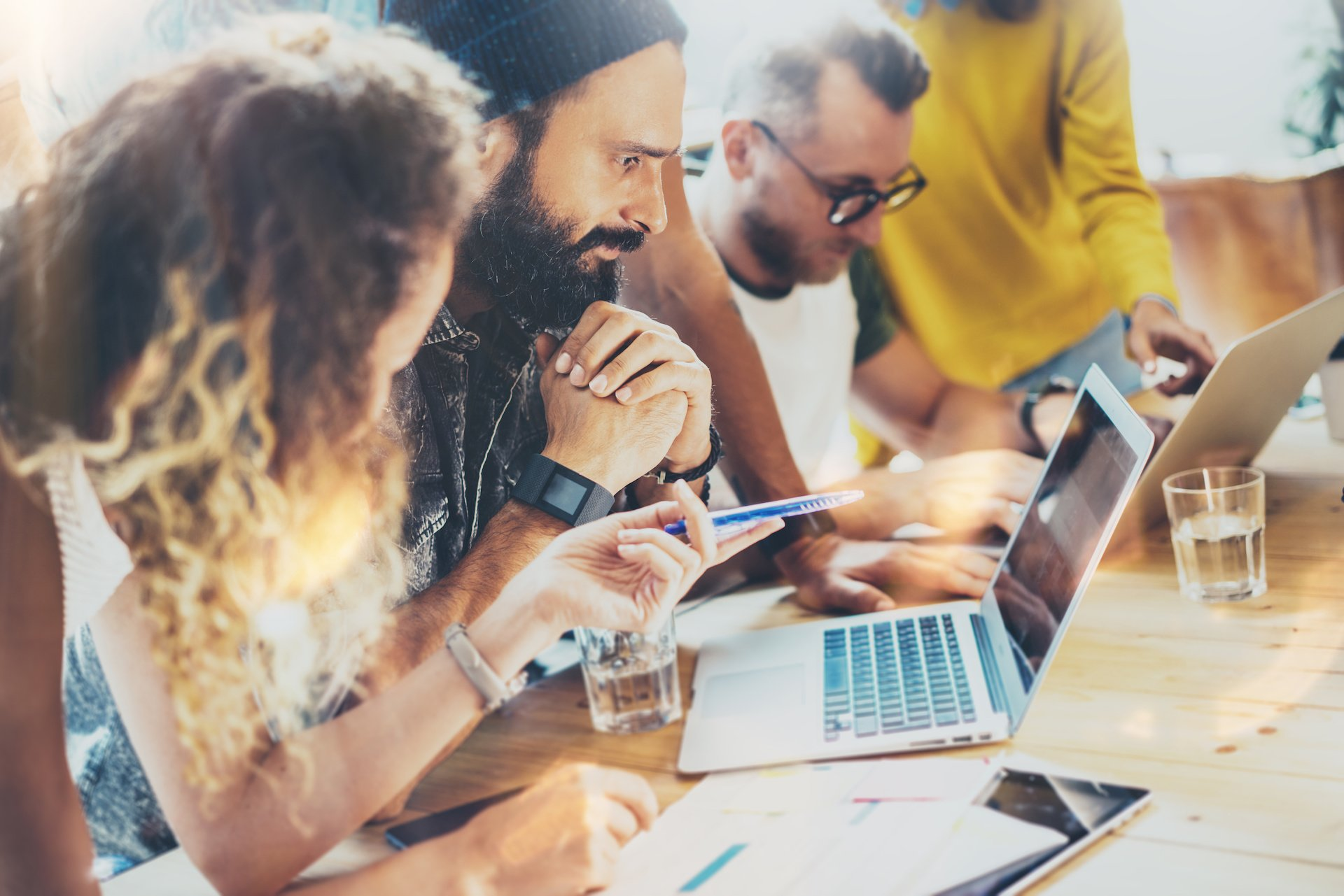 Menschen Computer Projektmanagement Software