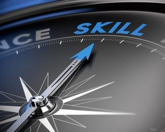 Hochwertige Planung Skill Kompass
