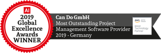 Outstanding Projekt Management Software Provider 2019