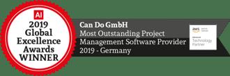 Outstanding Projekt Management Software Provider 2019
