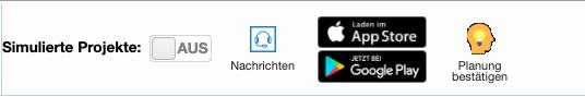 Mobile App der Can Do Software: die Logos