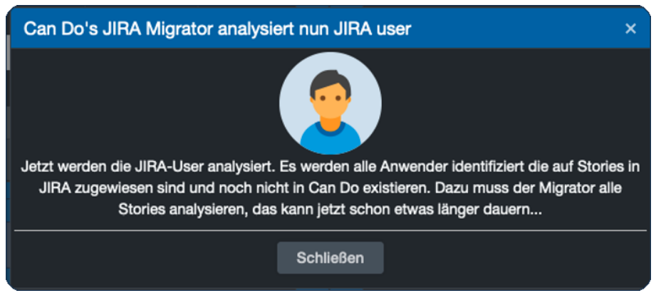 Die Jira-User werden analysiert