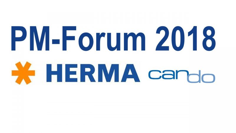 PM Forum 2018: HERMA und Can Do zeigen modernes Demand Management per Webservice-Technologie
